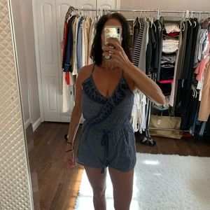 🔥Deal 🔥 Chambray romper